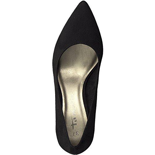 Tamaris Damen Pumps 22457-21,Frauen Pumps,elegant,feminin,festlich,Hochhackige Schuhe,Abendschuhe,Businessschuh,Trachten-Schuh,Trichterabsatz 7.5cm - 4