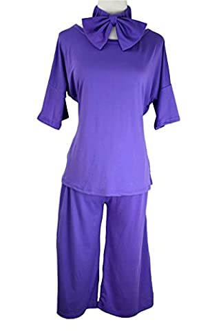 CrazySell Damen Schlafanzug mehrfarbig mehrfarbig Einheitsgröße Gr. M, Style A (Monster Bride Kostüm Make-up)