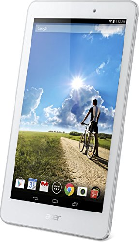 Acer Iconia Tab A1-841 Tablet 7.9 Pollici IPS, Processore MTK 8389Q Quad-Core, RAM 1 GB, HDD 16 GB, Doppia Fotocamera, Modulo 3G, Android 4.4 Kit Kat, Bianco