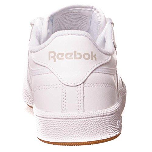 Reebok Club C 85, Deman Niedrig White/Light Grey/Gum