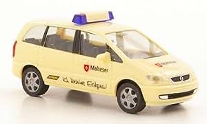 Opel Zafira, maltais, voiture miniature, Miniature déjà montée, Herpa 1:87