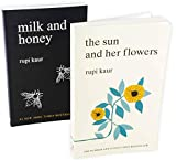 Rupi Kaur Milk and Honey and The Sun and Her Flowers 2 Book Collection