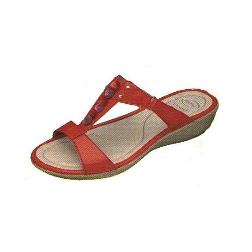 Scholl , Sandales pour femme Rouge