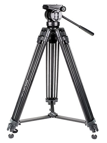 Kingjoy vt-2500professionale 155cm resistente in alluminio...