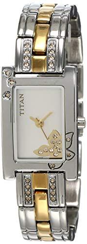 10. Titan Raga Analog Silver Dial Women's Watch