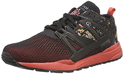 Reebok Ventilator Adapt Graphic, Chaussures de running entrainement homme, Noir (Rosette/Blk/Green/Wh), 40.5