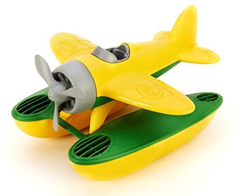 Green Toys - 66061 - Véhicule Miniature - Modèle Simple - Seaplane - Jaune