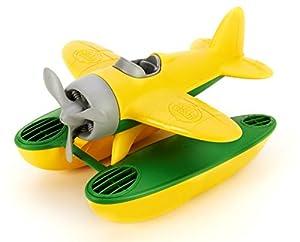 Green Toys- Hidroavión (Alas Amarillas),, USA Size (SEAY-1030)