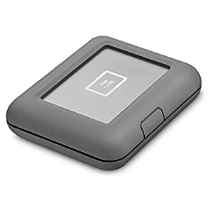 LaCie Copilot 2000GB Portable External Hard Drive and Backup On Set Solution