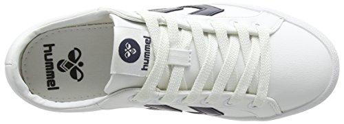 Hummel Unisex-Erwachsene Deuce Court Sport Low-Top Weiß (White 9001)