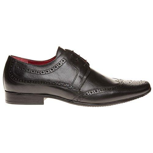 Red Tape Skelton Homme Chaussures Noir Noir