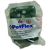 Petflex Bandage 5cm. Pack x 6. Dunkelgrün. Pet, Dog, Katze, animal Haftbandage Packungen