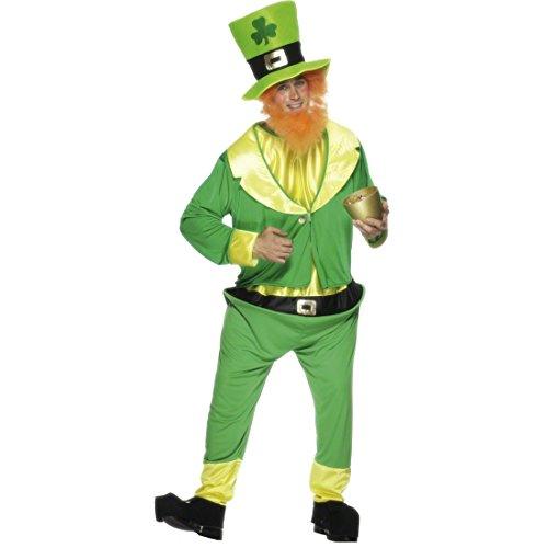Irischer Kobold Kostüm M/L Koboldkostüm Zwergenkostüm Wichtelkostüm Zwerg -