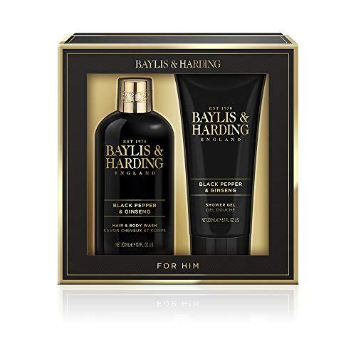 Baylis Harding Men's Black Pepper Ginseng Grooming Duo Gift Set