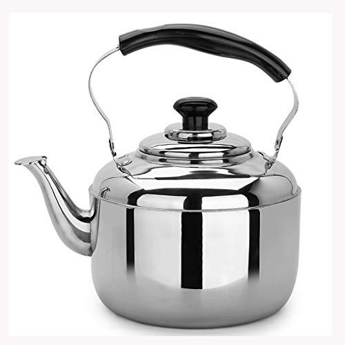 Bollitore LCFF Casa 304 in Acciaio Inox Cucina Fornello a induzione Gas Generale Automatico di Salute del fischio (capacità : 6L)