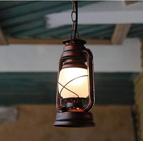 Deckenleuchten Lampen Kronleuchter Pendelleuchten Petroleumlampe Alte Lampe Vintage Oldtimer Leuchte Klassische Antike Bar Cafe Balkon Eisen Kronleuchter für Schlafzimmer Wohnzimmer Küche Gang Restau (Alten Kronleuchter)
