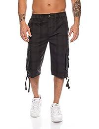 5c0cfb4fb8e7 Raff Taff Herren Bermuda Shorts Herren Sport Shorts Freizeithose Kurze Hosen  Cargohose bis 4XL