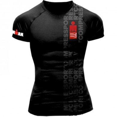 Running Tshirt Ironman Smart Herren Black M