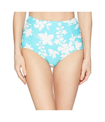 MICHAEL Michael Kors Womens Floral Vine High-Waisted Bikini Bottoms