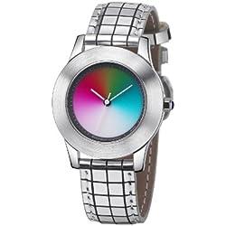 Rainbow Watch Unisex Wristwatch Elegancia Gamma EL47A-B-GS-ga