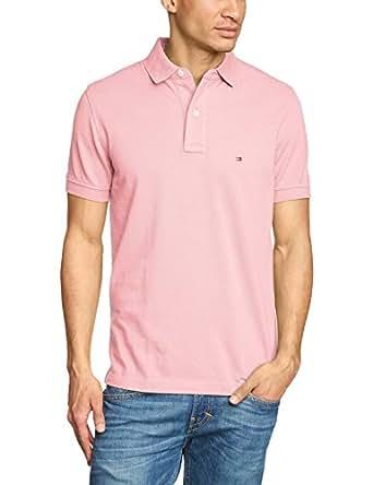 tommy hilfiger herren poloshirt small logo rosa sale gr e s farbe rosa bekleidung. Black Bedroom Furniture Sets. Home Design Ideas