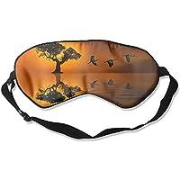 Sunset Lonely Tree Birds Sleep Eyes Masks - Comfortable Sleeping Mask Eye Cover For Travelling Night Noon Nap... preisvergleich bei billige-tabletten.eu