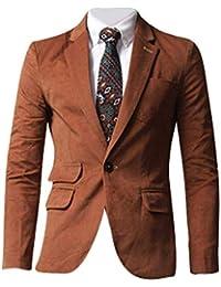 Herren Jacke Oberbekleidung Tops Blazer Männer Slim Fashion Anzugjacken Fit  Hochzeitsanzug Revers… 21478d1089