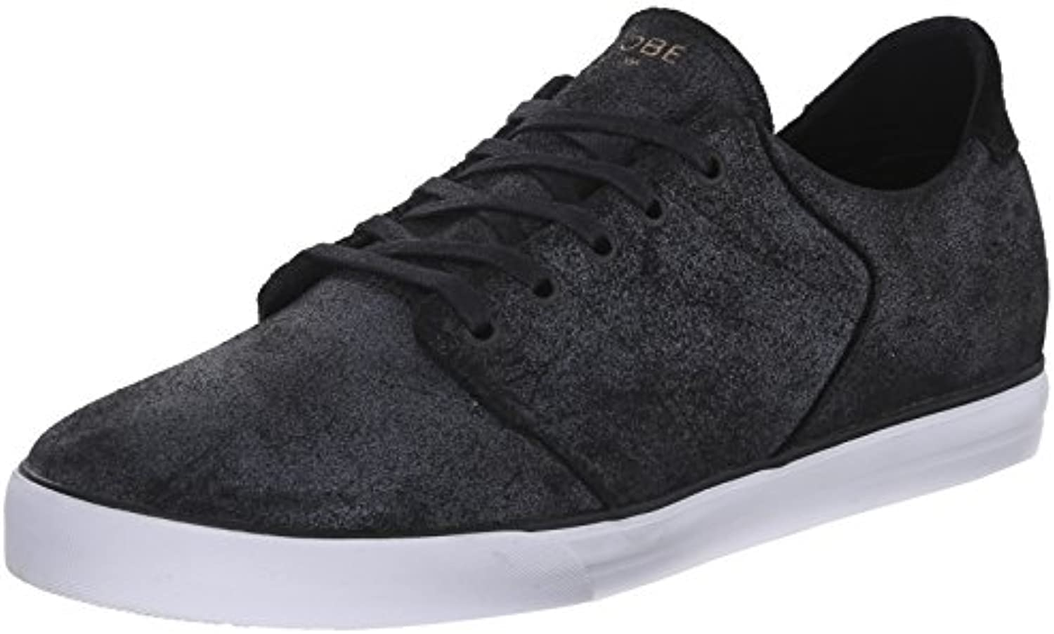 Globe Skateboard Shoes LOS Angered Low Distressed Black Size 8  -