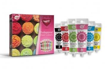RainbowDust MultiPack Set 6 Farben (Multi Fondant Pack)