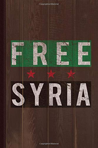 Free Syria Journal Notebook: Blank Lined Ruled For Writing 6x9 120 Pages por Flippin Sweet Books