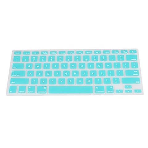 Gazechimp Tastatur Abdeckung Wasserdicht Silikon Keyboardschutz Hülle Haut für Macbook Pro 13