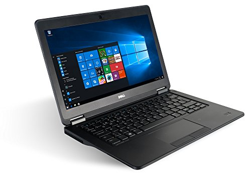 "Dell Latitude E7250 12.5"" Laptop Notebook - Intel Core i5-5300U 2X 2,3 a 2,9 GHz Turbo - 8 GB DDR3 256 GB SSD - Windows 10 Home 64Bit"