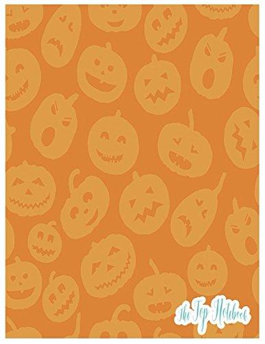 The Top Notebook: Happy funny Halloween (Halloween Theater Happy)
