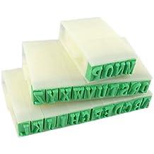 Papelería Plástico desmontable Inglés alfabeto sello