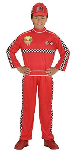 Formule-1-Racing-Car-Driver-Childrens-Costume-de-dguisement
