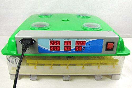 Inkubator VOLLAUTOMATISCH BK55Lux + Zubehör, 55 Eier, Brutautomat, Brutmaschine, sehr leise - 2