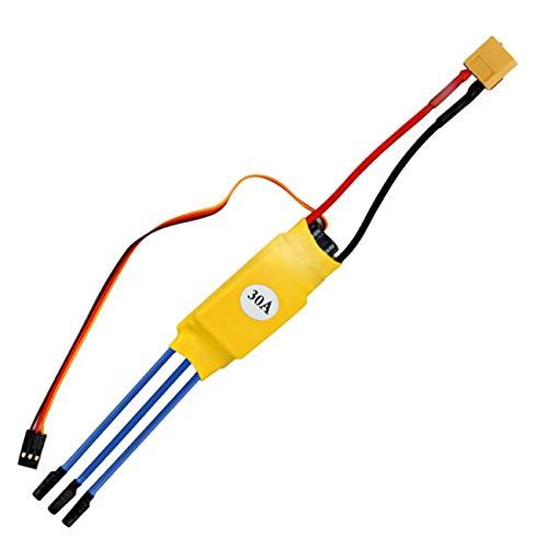 Elviray 30 A 12 V DC 3-Phasen-Drehzahlregler für bürstenlosen Motor Hochleistungsregler PWM-Steuerleistung Modulator identifizieren A/v-modulator