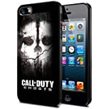 Case Call of Duty Ghost Cover for iPhone 5/5s Cod03 Border Rubber Silicone Case Black@pattayamart