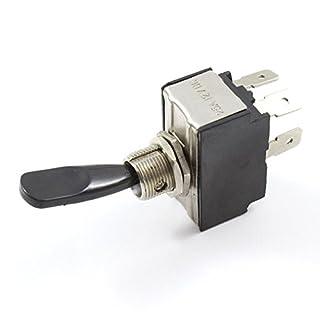 Toggle Switch (aus/Momentary on) Doppel Pole 25Amp spezifische DPST 12V/24V