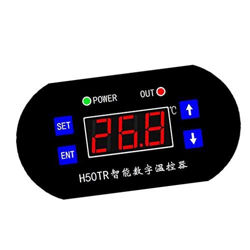 MagiDeal Controlador Digital Termóstato Interruptor de Control de Temperatura Digitaces Moto -...