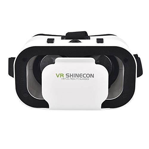 Shangcer Audio-Zubehör 3D Virtual Reality Brillen Filme Spiele für 4.0-6.0inch Smartphone Bessere Elektronik