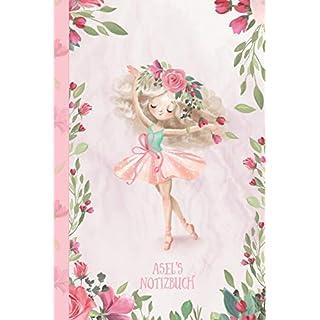 Asel's Notizbuch: Zauberhafte Ballerina, tanzendes Mädchen