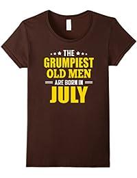 Grumpy Old Men Born July, Old Man T Shirt