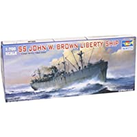 Trumpeter 05756 Modellbausatz SS John W. Brown Liberty Ship