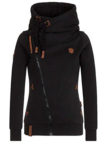 Naketano Female Zipped Jacket Family Biz Black, L