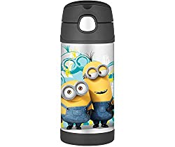 Thermos 12 Ounce Funtainer Bottle, Minions