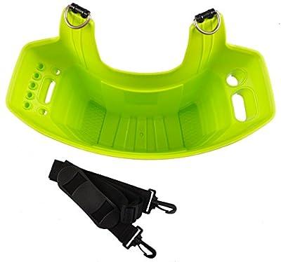 Keter Werkzeugtasche Werkzeugträger Leitertasche Gartengerätebox Putzbox Klammerkorb, Farbe:grün