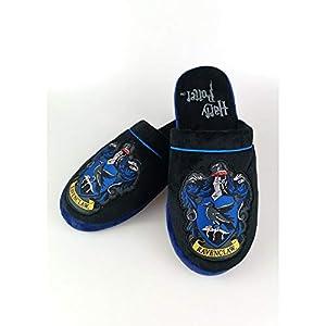 Harry Potter Ravenclaw_Slippers, Pantuflas Hombre, Multicolor, 42/44.5 EU 6