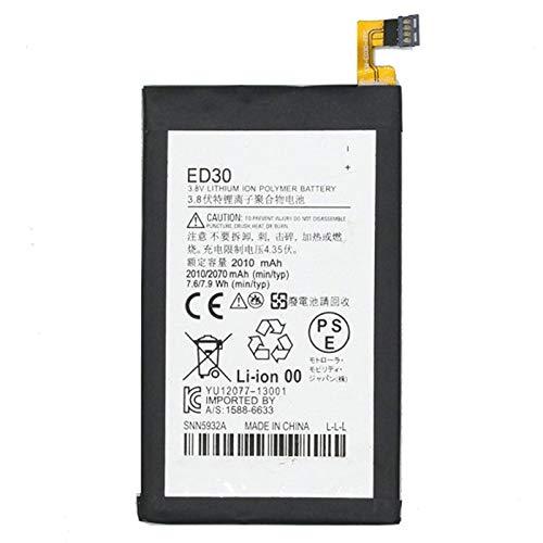 INTERNEBATTERIESS Accessori per telefoni cellulari. 2010mAh Li-Polymer Batteria ED30 per Motorola Moto G / G2 / Droid Mini / XT1028 / XT1032 / XT1033 / XT1034 / XT1068 / XT1039