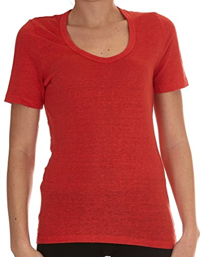 isabel-marant-womens-ts024017p027e70rd-red-linen-t-shirt